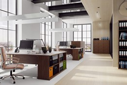 Nova Walnut Office Range
