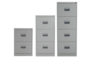 Mod Grey steel Filing Cabinets