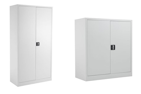 Mod White Steel 2 Door Cupboard