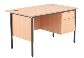 Nova Contract Single Pedestal Desk