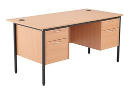 Nova Contract 2+2 Drawer Desk