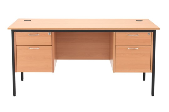 Nova Contract 2+2 Drawer Desk