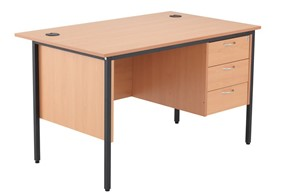 Nova Contract Single 3 Drawer Pedestal Desk