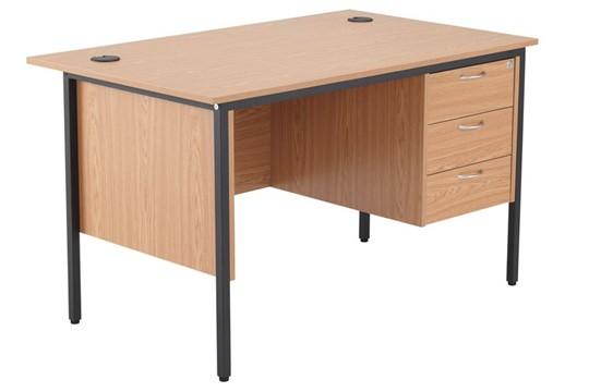 Nova Contract Single 3 Drawer Pedestal Desk