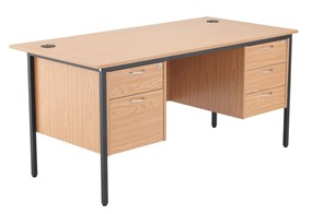 Nova Contract 2+3 Drawer Desk