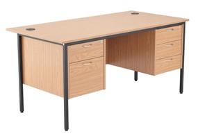 Nova Contract 2+3 Drawer Desk