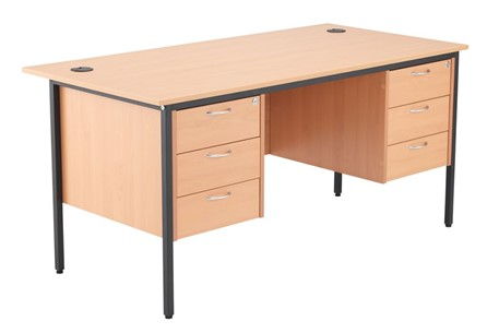 Nova Contract 3+3 Drawer Desk
