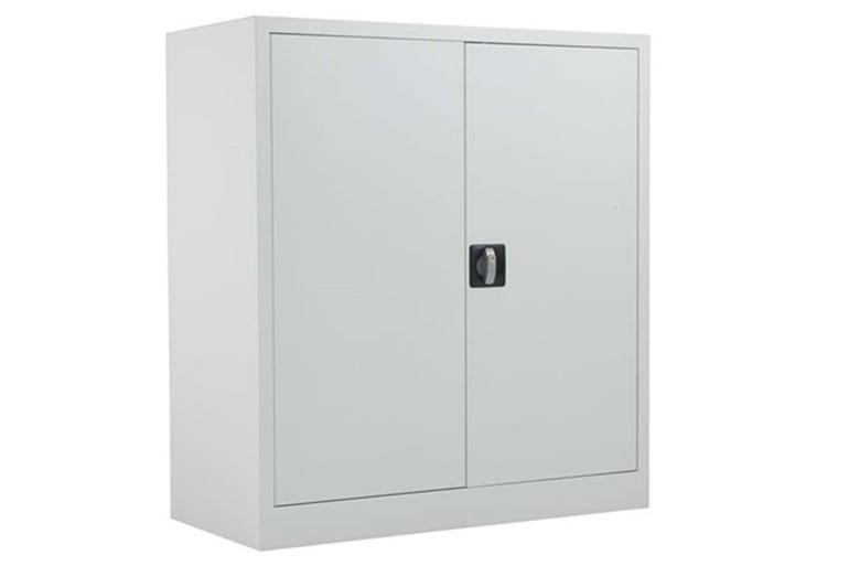 Mod White Steel 2 Door Cupboard