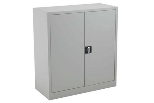 Mod Grey Steel 2 Door Cupboard