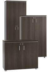 Mokka Storage Cupboards - Royal Brown Oak 735mm High 1 Shelf