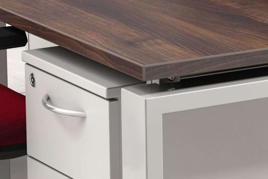 Geo Bench Desk Double