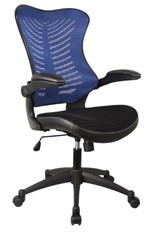 Dakota Mesh Office Chair - Blue