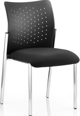 Espacio Visitor Chair - Black