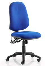 Horizon Office Chair - Blue No Arm
