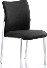 Optimo Visitor Chair - Black