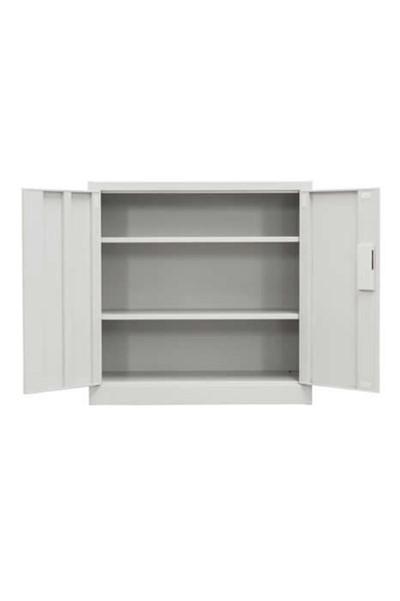 Low 2 Door Stationery Cupboard