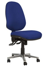 Kirby Bariatric Chair - Blue No Arm