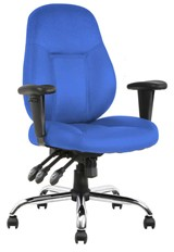Endurance Task Chair - Blue Fabric