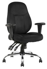 Endurance Task Chair - Black Fabric
