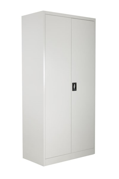 Tall 2 Door Metal Cupboard