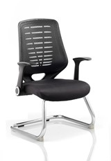 Olympia Visitor Chair - Black Black