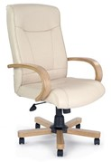 Knightsbridge Leather Office Chair