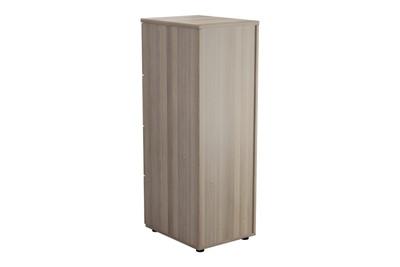 Kestral Grey Oak 4 Drawer Filing Cabinet