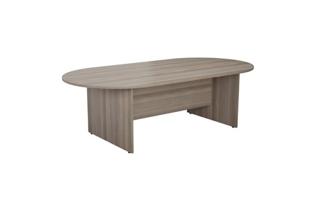 Kestral Grey Oak D End Boardroom Table