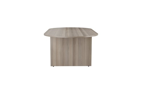 Kestral Grey Oak D End Boardroom Table