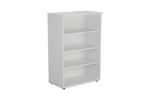 Kestral White Bookcase