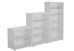 Kestral White Bookcase