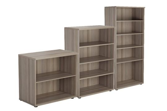 Kestral Grey Oak Bookcase