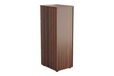 Kestral Dark Walnut 4 Drawer Filing Cabinet