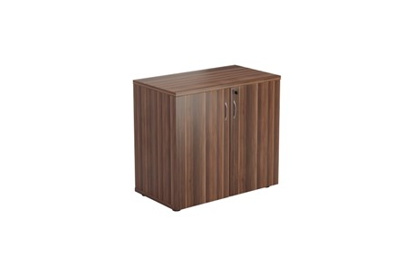 Kestral Dark Walnut Desk High Cupboard