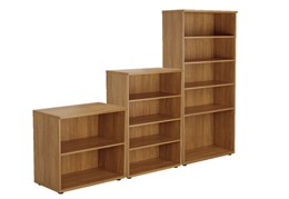 Kestral Light Walnut Bookcase