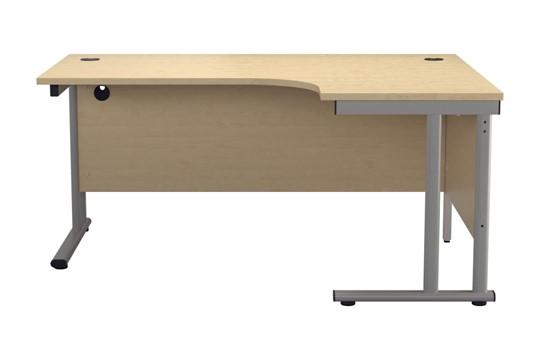 Kestral Maple Cantilever Corner Workstation