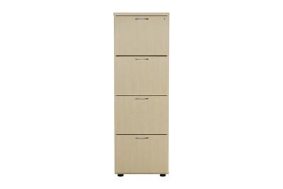 Kestral Maple 4 Drawer Filing Cabinet