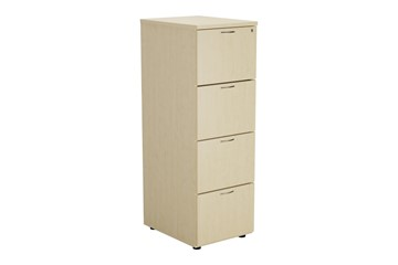 Kestral Maple 4 Drawer Filing Cabinet