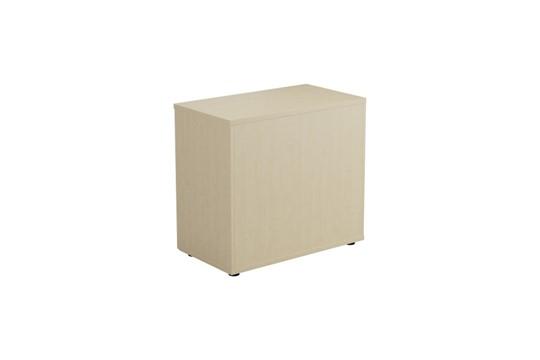 Kestral Maple Desk High Cupboard