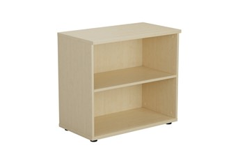 Hawk Maple Walnut Bookcase - 730mm One shelf