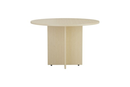 Kestral Maple Round Meeting Table