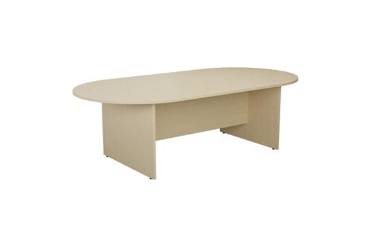 Kestral Maple D End Boardroom Table