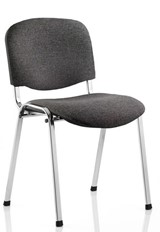 Chrome Conference Chair - Charcoal No