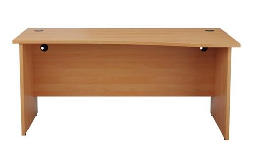 Kestral Wave Panel Leg Desk