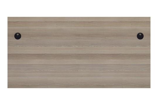 Kestral Grey Oak Rectangular Panel Desk
