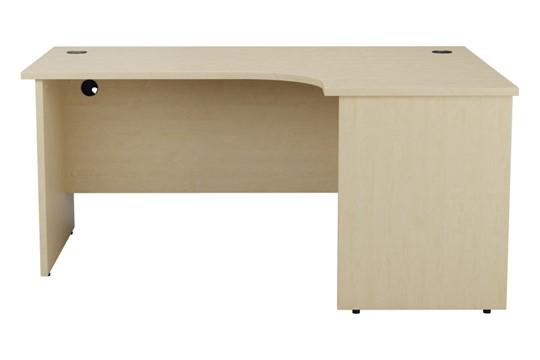 Kestral Maple Panel Corner Workstation