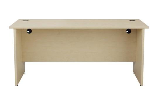 Kestral Maple Rectangular Panel Desk