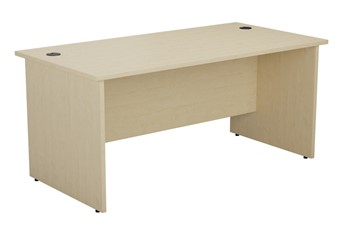 Kestral Maple Rectangular Panel Desk - 1200mm