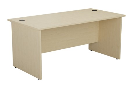 Kestral Maple Rectangular Panel Desk