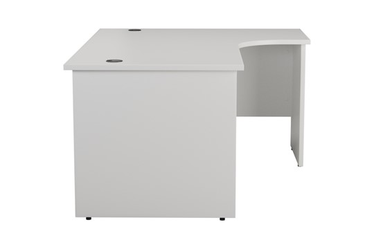 Kestral White Panel Corner Workstation